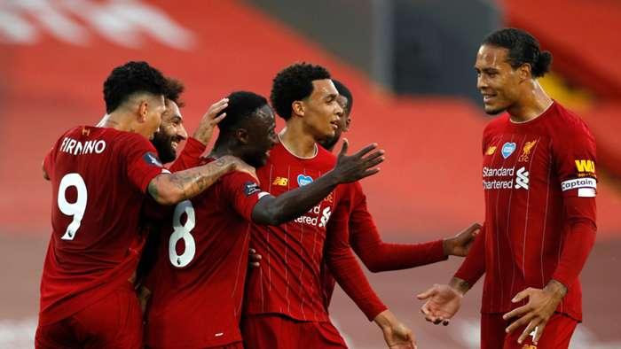 Naby Keita/Virgil van Dijk Liverpool 2019-20
