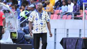 Molefi Ntseki head coach of Bafana Bafana