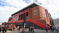 Anfield Main Stand 2018