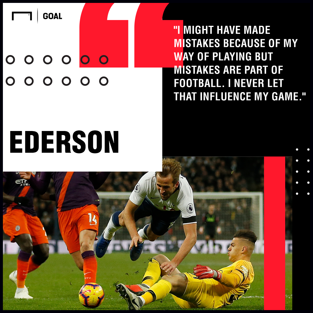 Ederson Manchester City PS