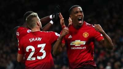 Anthony Martial Luke Shaw Manchester United