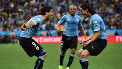 Luis Suarez Edinson Cavani Uruguay