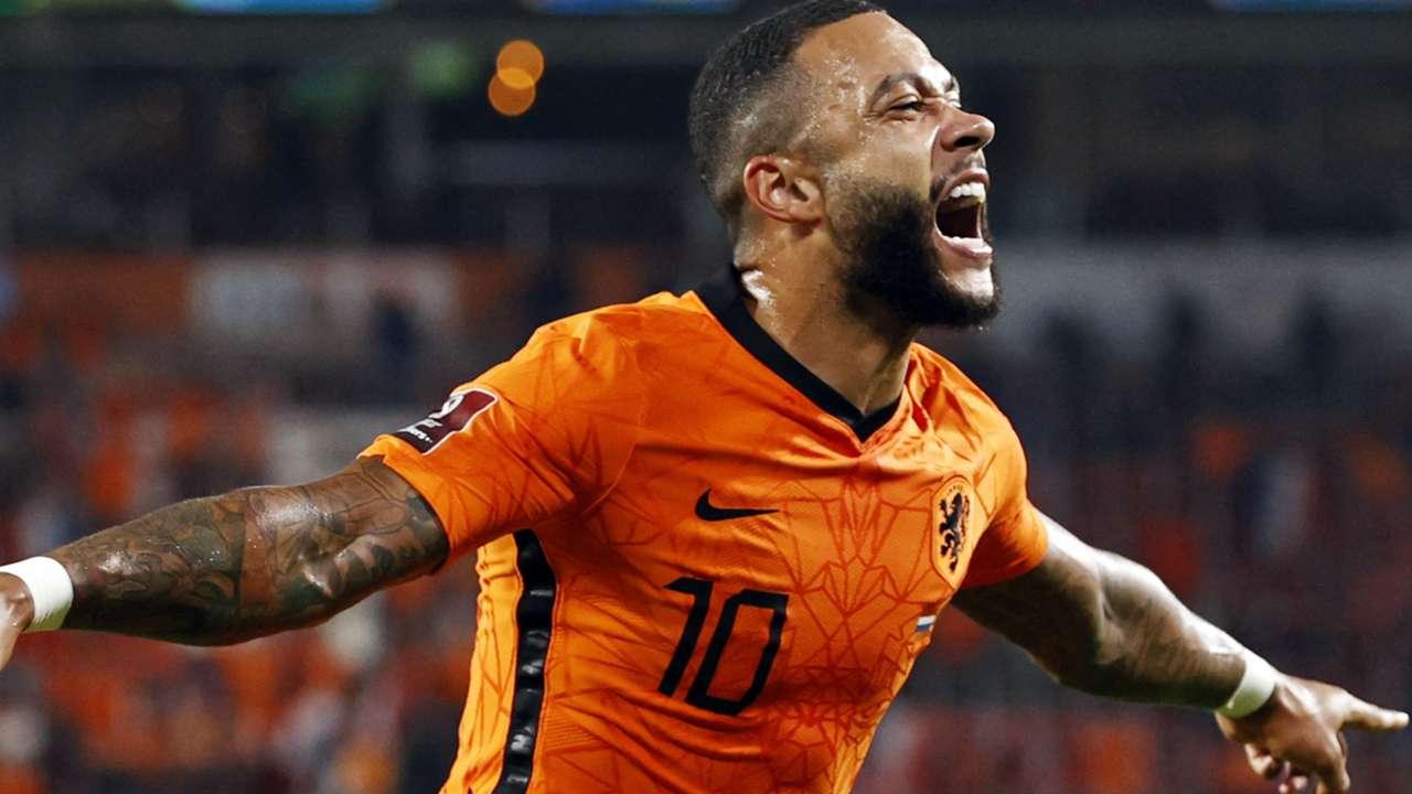 Memphis Depay Netherlands 2021