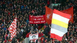 Liverpool fans Anfield 2019-20