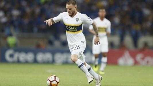Nahitan Nandez Cruzeiro Boca Copa Libertadores 04102018