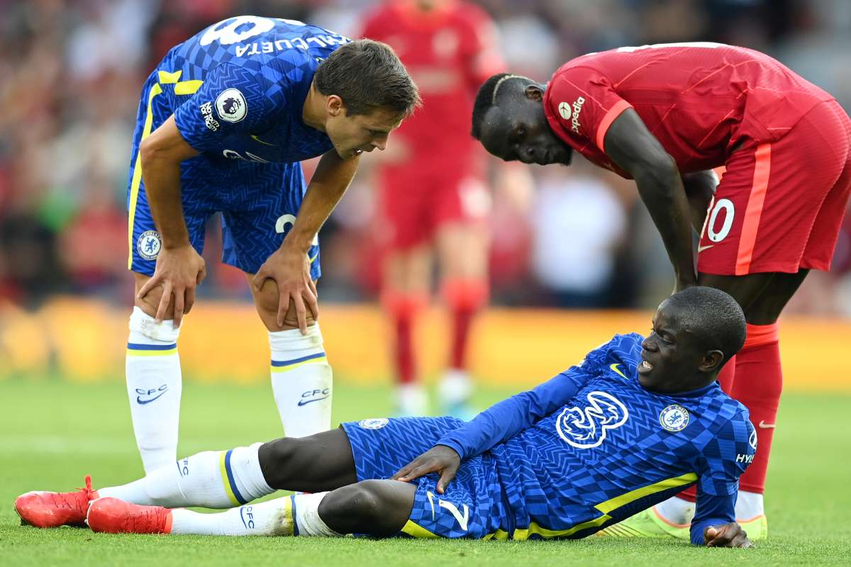 Chelsea provide Kante injury update after star forced off in Liverpool draw  | Goal.com