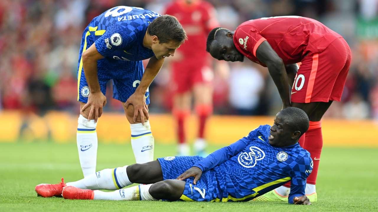 N'Golo Kante Chelsea Liverpool Premier League 2021-22