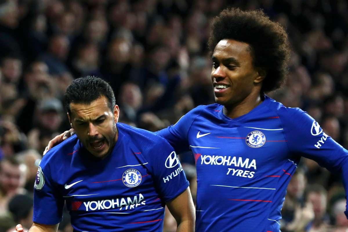 Chelsea 2-1 Newcastle: Pedro & Willian must continue to lighten ...