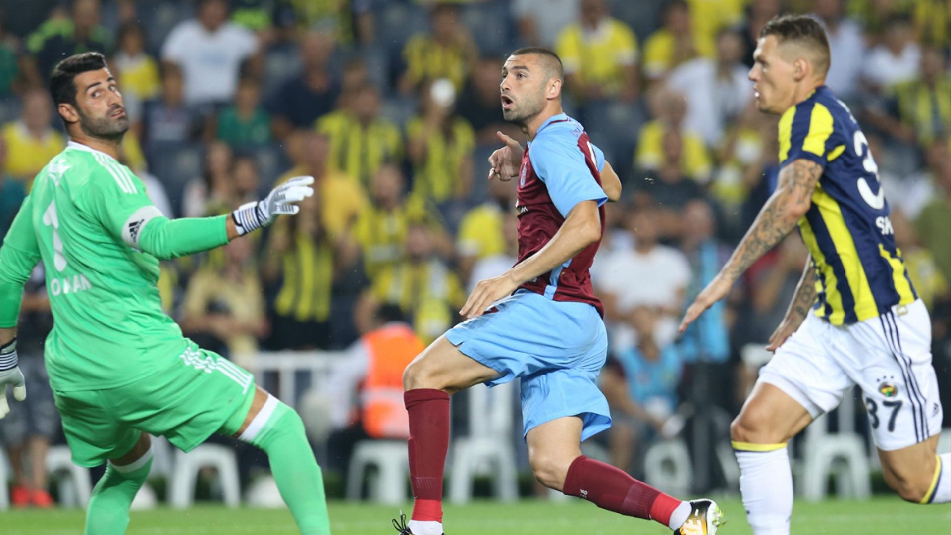 Burak Yilmaz Volkan Demirel Fenerbahce Trabzonspor 08202017