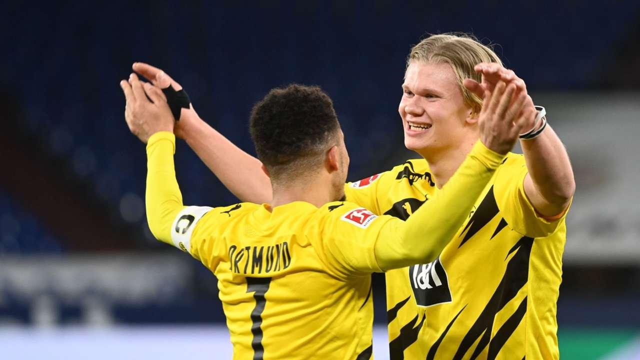 Erling Haaland Jadon Sancho Borussia Dortmund
