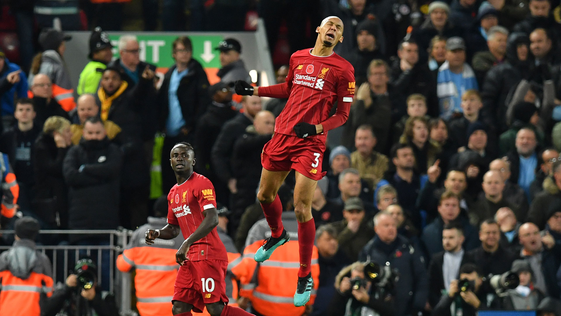 Fabinho FC Liverpool Manchester City Premier League 10112019