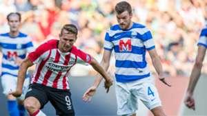 Mateo Barac, Luuk de Jong, Osijek vs. PSV, 08032017