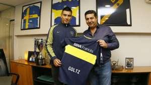 Paolo Goltz Boca Juniors Daniel Angelici 06072017