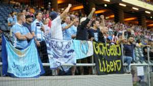 Lazio fans