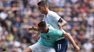 Erik Lamela Milan Skriniar Tottenham Inter