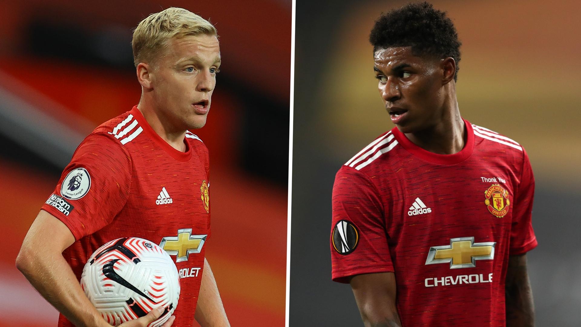 'Van de Beek could cover for Rashford on left wing' – Solskjaer sees Man Utd new boy playing 'loads of different positions'