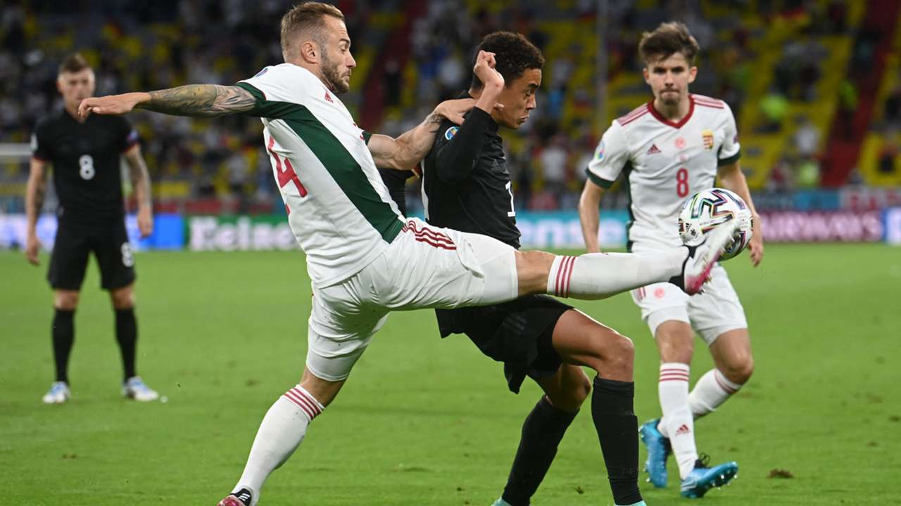 Jamal Musiala Germany Hungary European Championship 2021