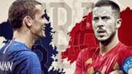 GFX France Belgium World Cup 2018