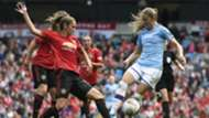 Janine Beckie Abbie McManus Manchester City Manchester United Women's Super League 2019
