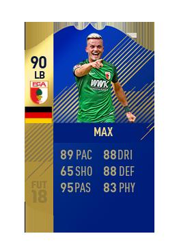 FIFA 18 Bundesliga Team of the Season Philipp Max