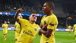 Kylian Mbappé Marco Verratti Anderlecht PSG Cjampions league 18102017