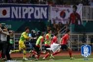 아시안게임 대표팀 금메달 Korea republic u-23