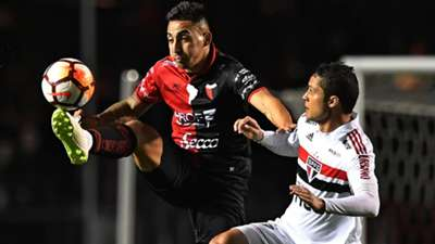Javier Correa Colon Sao Paulo Copa Sudamericana 2018
