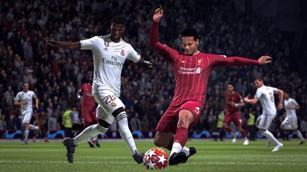 ONLY EMBARGOED FIFA 20 defending