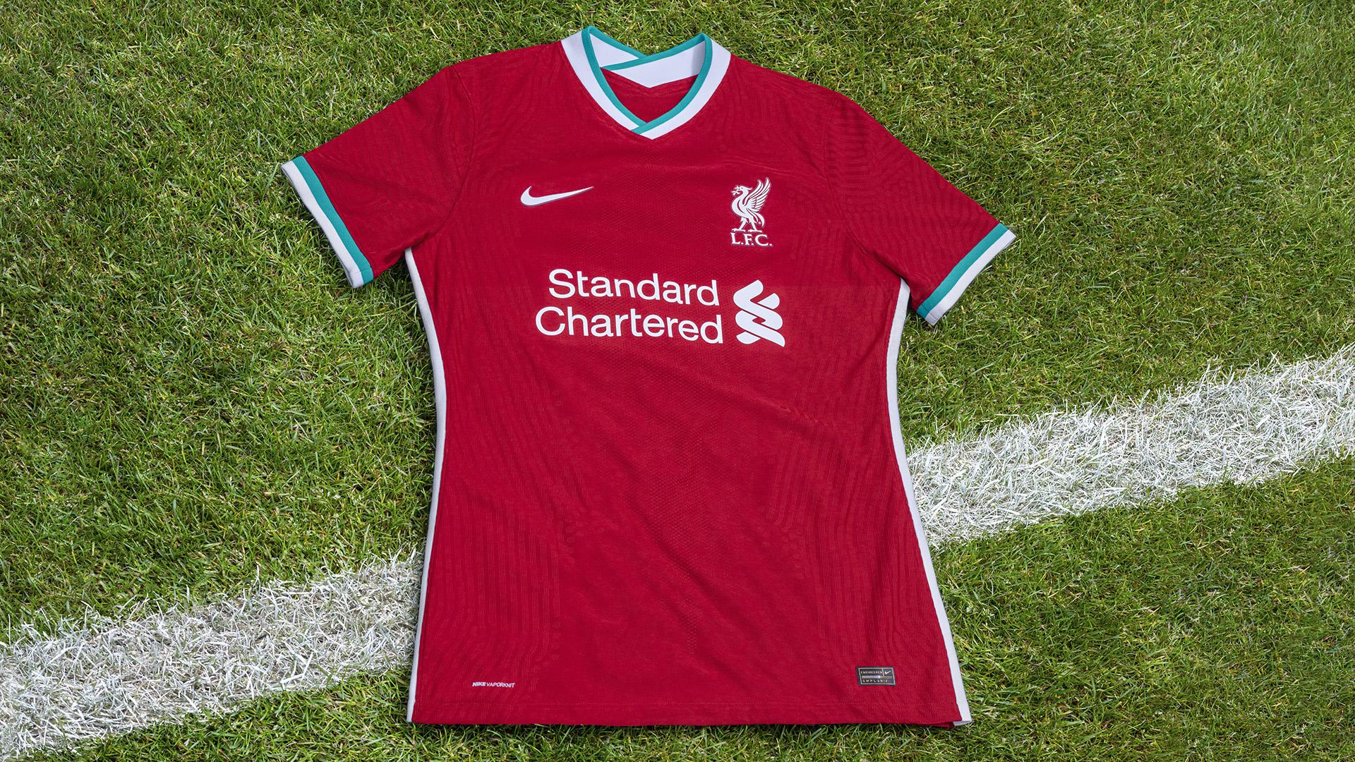 Liverpool E Nike Lancam Primeiro Uniforme Juntos Veja As Fotos Da Camisa Goal Com