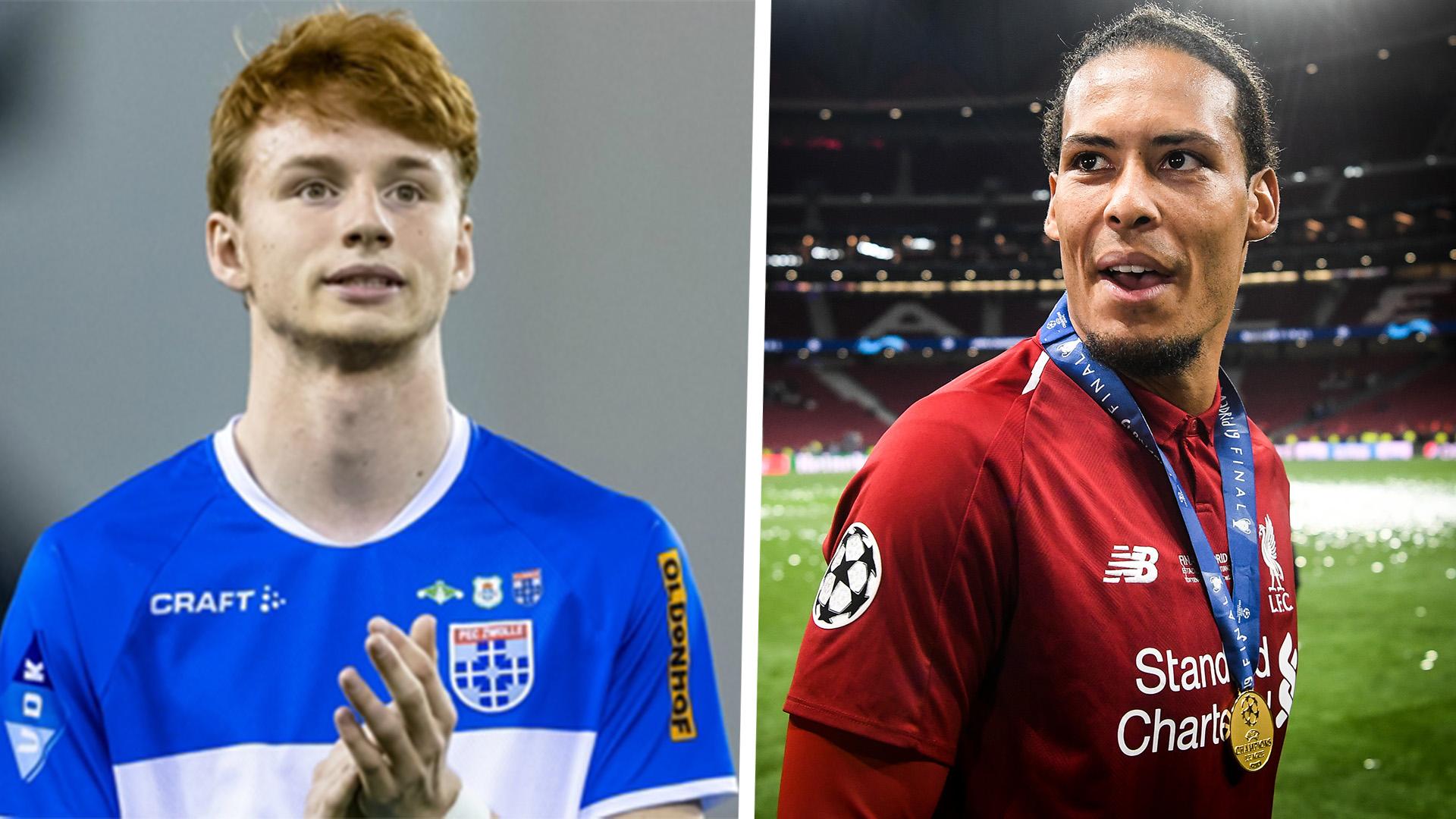 Who Is Sepp Van Den Berg Liverpool S New Signing Labelled Baby Van Dijk Goal Com