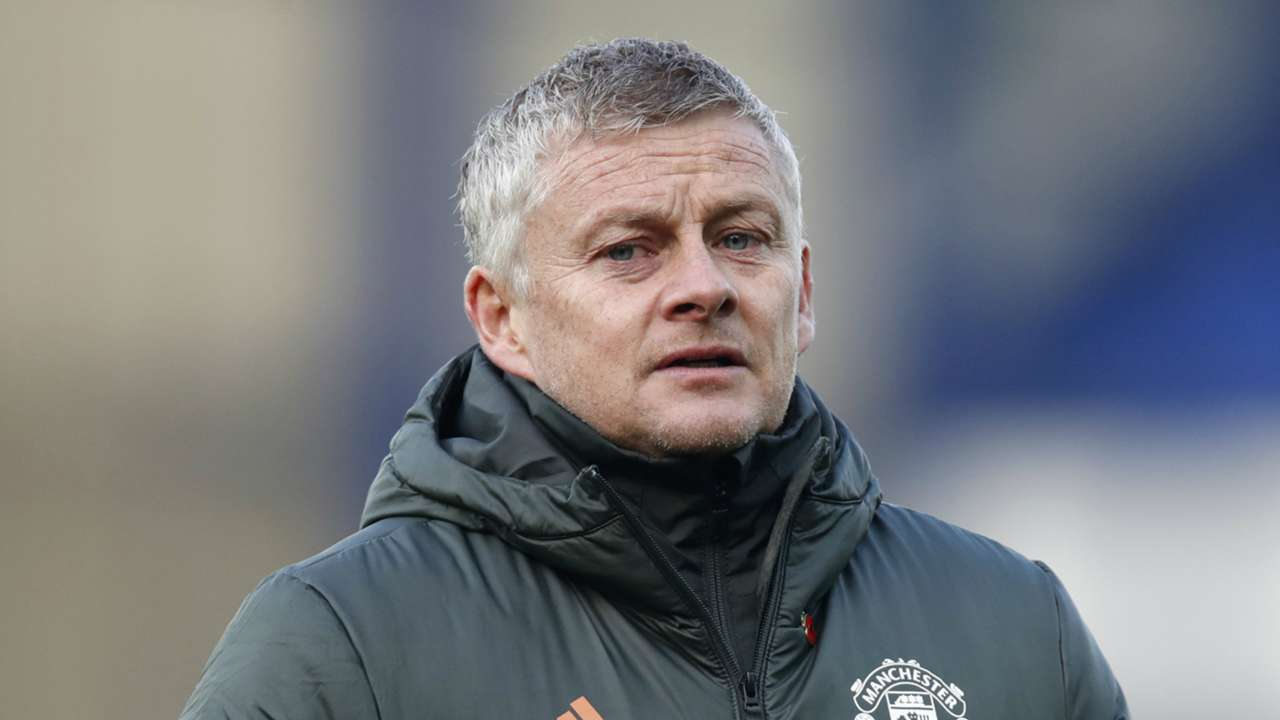 Ole Gunnar Solskjaer Everton vs Man Utd Premier League 2020-21