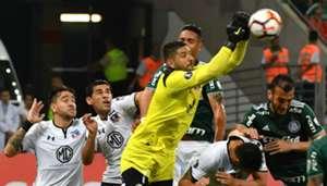 031018 Palmeiras Colo Colo Agustín Orion Julio Barroso