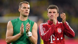 Manuel Neuer Thomas Muller Bayern Munich 2019-20