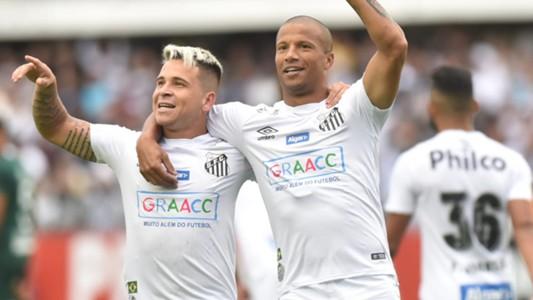 Soteldo Carlos Sanchez Santos Goiás Brasileirão Série A 04082019