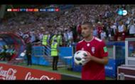 Mohammadi throw in Iran Spain