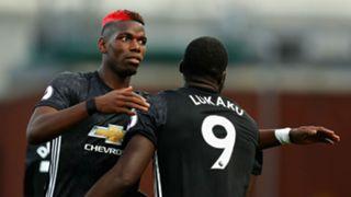 Paul Pogba Romelu Lukaku Manchester United 09092017