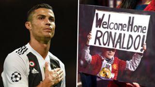 Cristiano Ronaldo Juventus Man Utd 2018