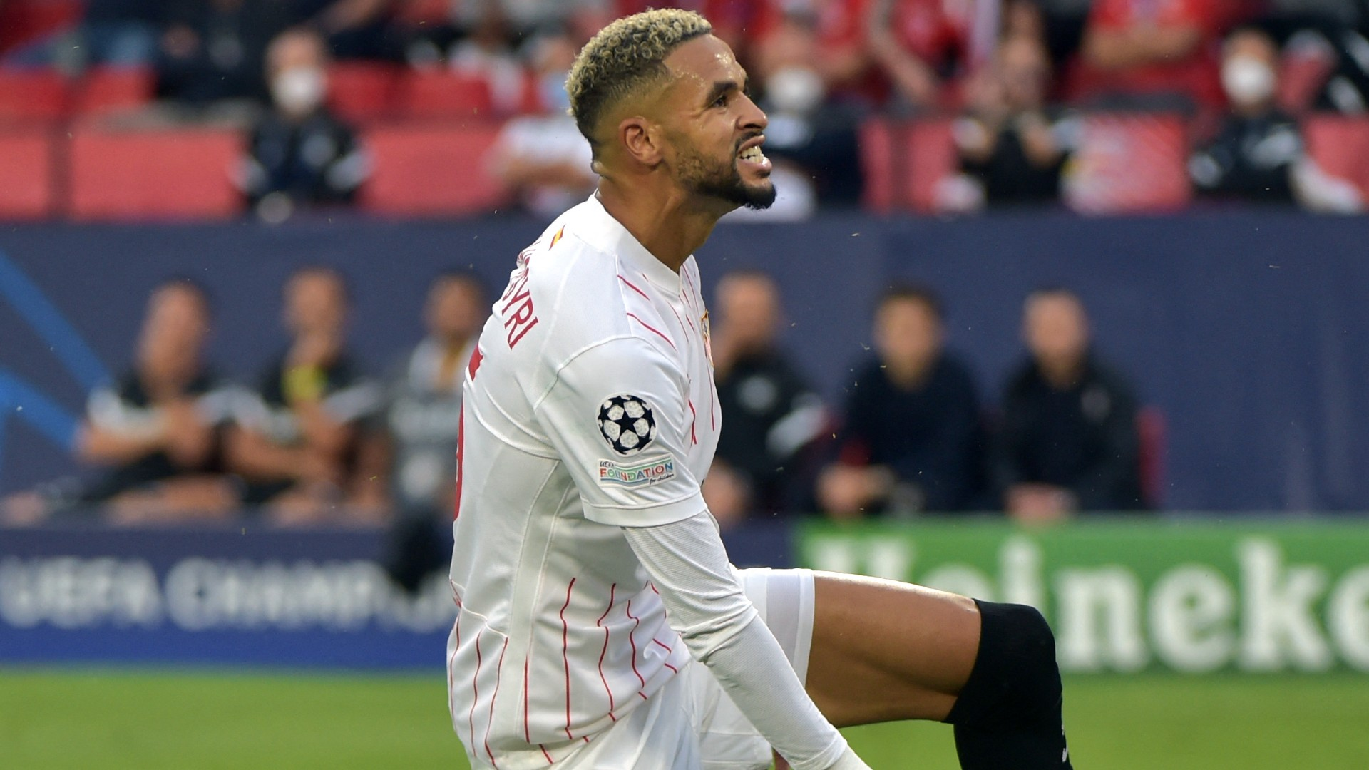Champions League: Sevilla's En-Nesyri sets unwanted record in Salzburg draw