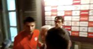 Alvaro Morata zona mixta