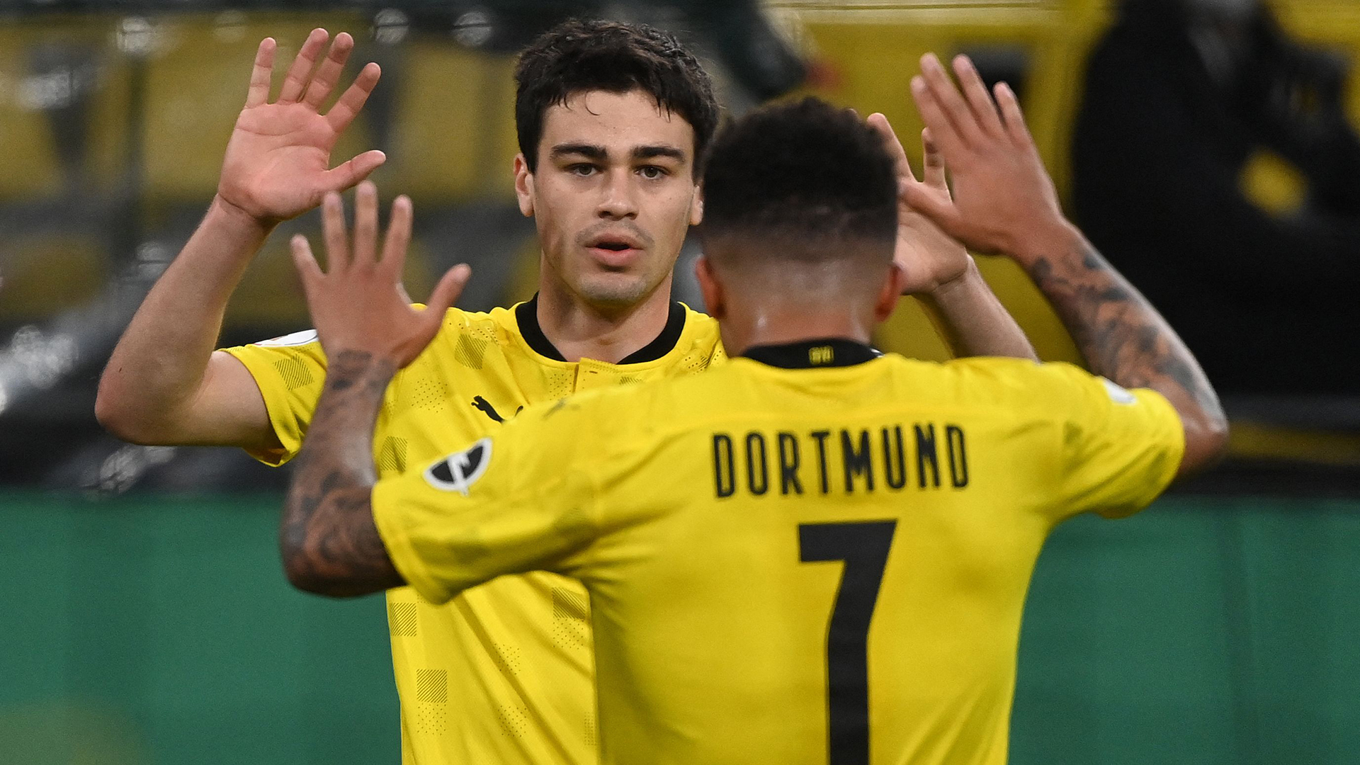 Reyna: Sancho told me to take the No. 7 shirt before Man Utd move