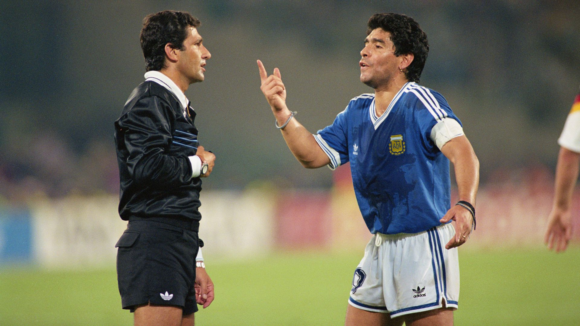 Referee reveals why he could have sent Maradona off before 1990 World Cup final