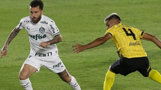 Lucas Lima Palmeiras Guarani Libertadores 23 09 2020