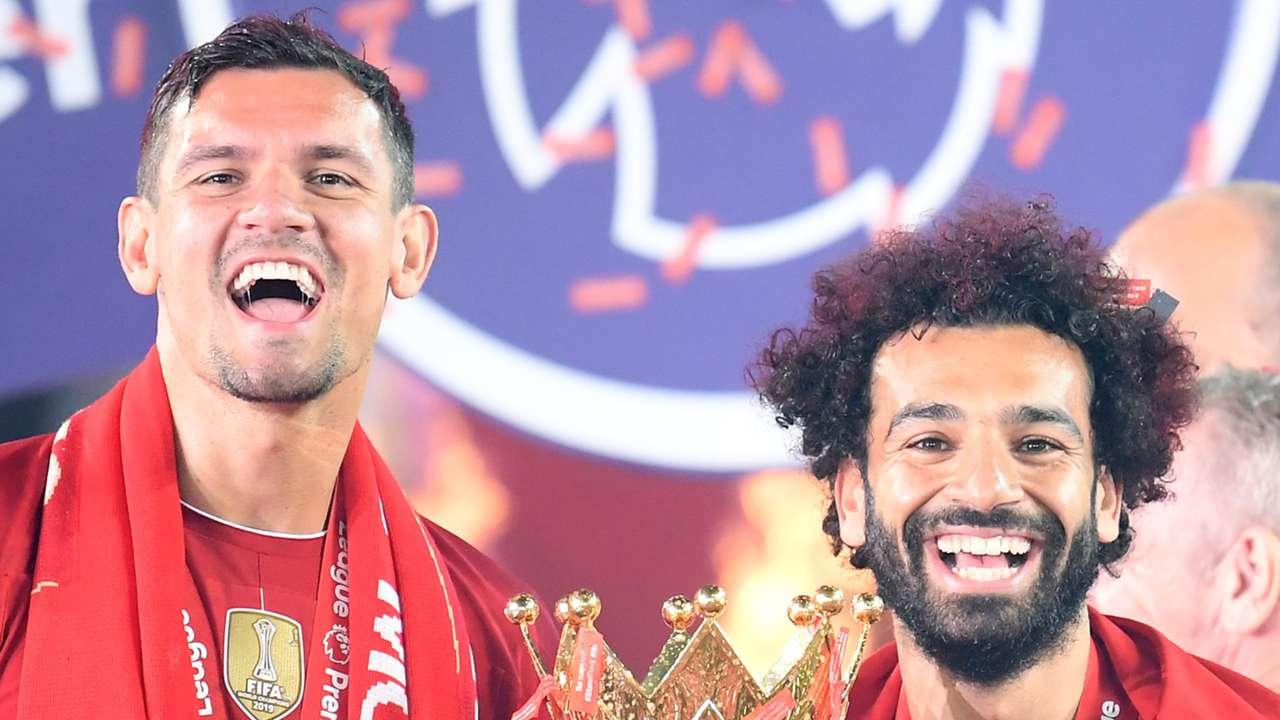 Dejan Lovren Mohamed Salah Liverpool
