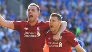 Jordan Henderson James Milner Liverpool 2018-19