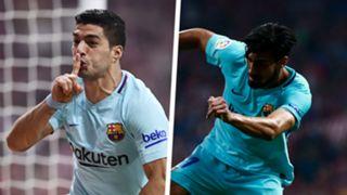 Luis Suarez Andre Gomes Barcelona Split
