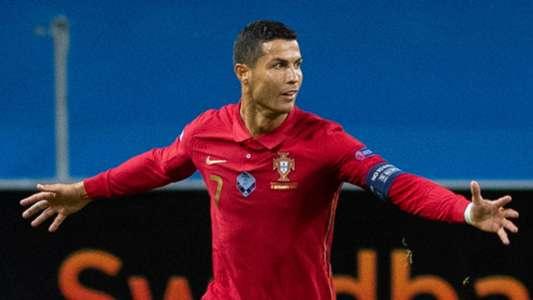 (Nations League) Ronaldo thiết lập kỷ lục mới trong màu áo ĐT Bồ Đào Nha