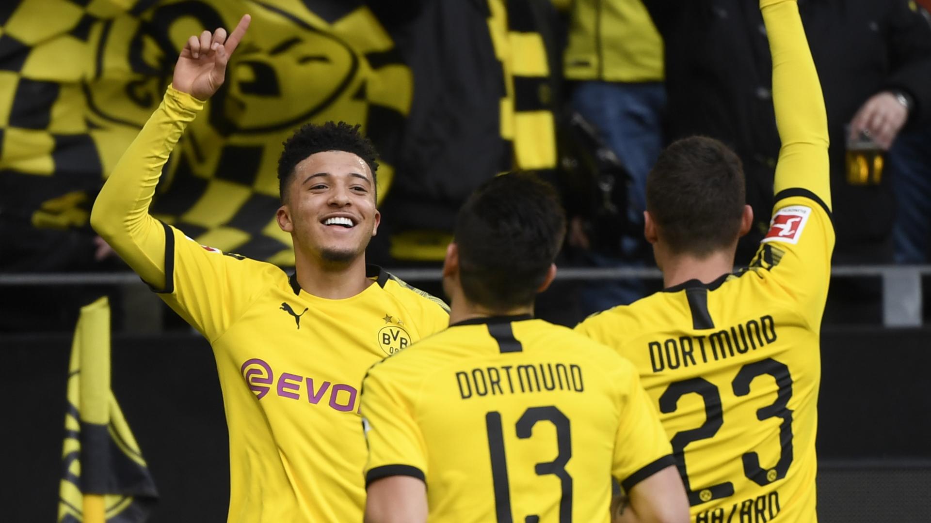Manchester United en pole pour Jadon Sancho — Dortmund