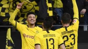 Jadon Sancho scored for Borussia Dortmund vs Freiburg