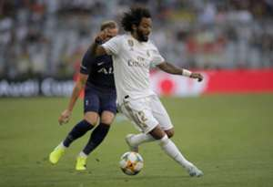 Marcelo Real Madrid Tottenham Audi Cup
