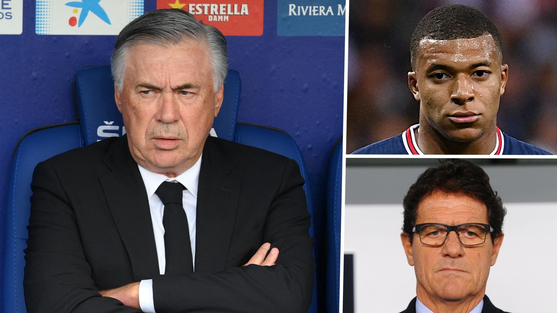 Pour Capello, le Real n'a pas besoin de Mbappé mais de défenseurs